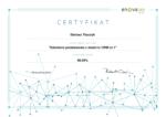 Certyfikat Szkolenie podstawowe z modułu CRM cz.1 enova365 Dariusz Tkaczyk 2019