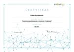 Certyfikat Szkolenie podstawowe z modułu Produkcja enova365 Paweł Hryniewiecki 2018