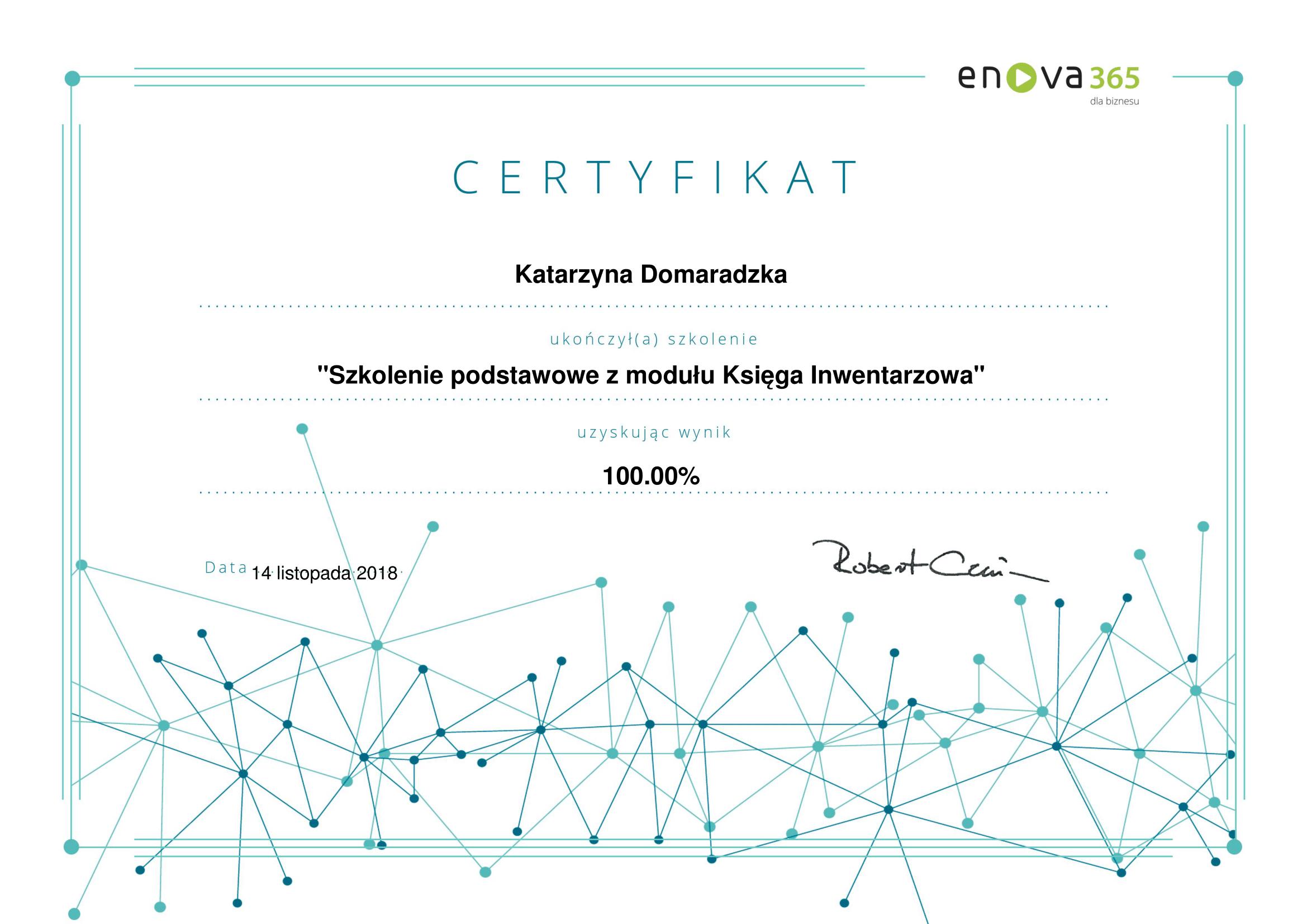 enova365_Certyfikat_podstawowy_Księga_Inwentarzowa